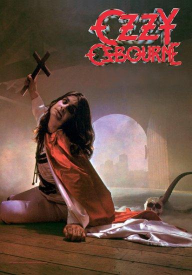 Ozzy Osbourne Poster Flag Blizzard of Ozz Tapestry