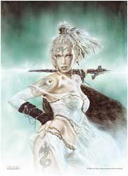 Luis Royo Poster Flag Subversive Beauty Tapestry