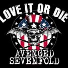 Avenged Sevenfold Poster Flag Love it or Die Tapestry