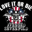 Avenged Sevenfold Poster Flag Love it or Die Tapestry