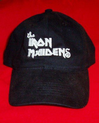 The Iron Maidens Logo Hat Black One Size Fits All