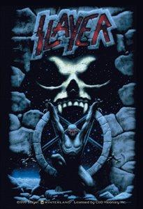 Slayer Vinyl Sticker Skull Logo