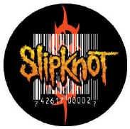 Slipknot Vinyl Sticker Bar Code Logo