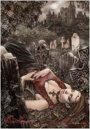 Victoria Frances Poster Flag Lecho de Muerta Tapestry
