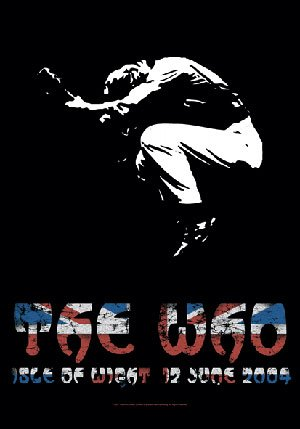 The Who Poster Flag Isle of Wight Tapestry