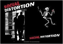 Social Distortion Poster Flag Slammer Tapestry