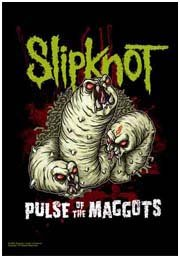 Slipknot Poster Flag Pulse of the Maggots Tapestry