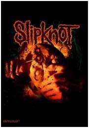 Slipknot Poster Flag Carved Logo Tapestry