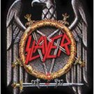 Slayer Poster Flag Eagle Pentagram Logo Tapestry
