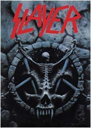 Slayer Poster Flag Divine Intervention Tapestry
