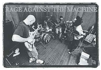 Rage Against the Machine Poster Flag Live Logo Tapestry