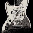 Nirvana Poster Flag Guitar Logo Tapestry
