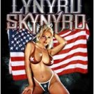 Lynyrd Skynyrd Poster Flag Bikini Girl Tapestry Rock Band