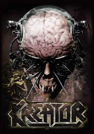 Kreator Poster Flag Enemy of God Tapestry