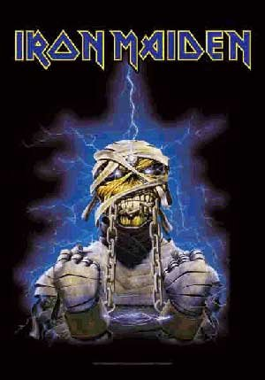 Iron Maiden Poster Flag World Slavery Tour Tapestry