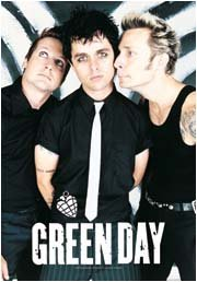 Green Day Poster Flag Band Photo Tapestry