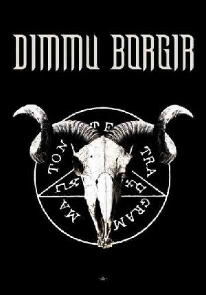 Dimmu Borgir Poster Flag Goat Logo Tapestry
