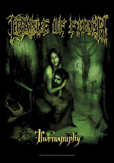 Cradle of Filth Poster Flag Thornography Tapestry