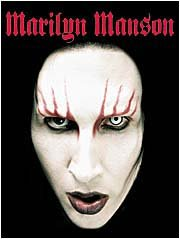 Marilyn Manson Poster Flag Head Shot Tapestry
