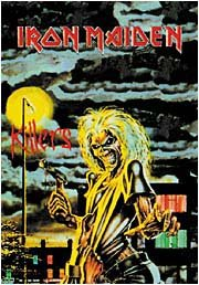 Iron Maiden Poster Flag Killers Tapestry