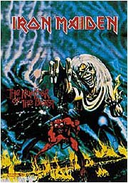 Iron Maiden Poster Flag Number Of The Beast Tapestry