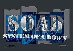 System of a Down Poster Flag Tour Live Tapestry