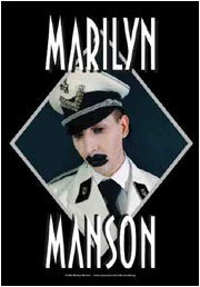 Marilyn Manson Poster Flag Diamond Tapestry
