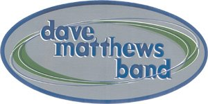 Dave Matthews Band Vinyl Sticker Oval Letters Logo