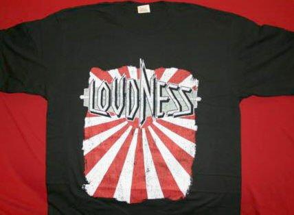 Loudness T-Shirt World Tour 2006 Black Size Small