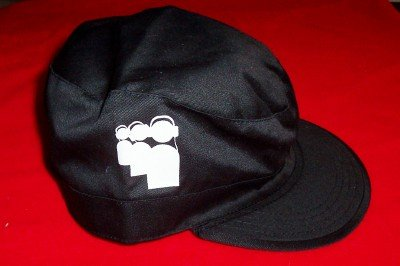 MySpace Van's Warped Tour Combat Hat Black Size Large