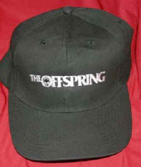 The Offspring Hat Letters Logo Black Size Large XL
