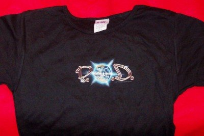 POD Babydoll T-Shirt Payable on Death Black One Size Fits All