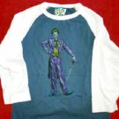 Batman The Joker Babydoll Jersey Shirt Size Medium
