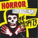 Misfits Vinyl Sticker Horror Business Logo