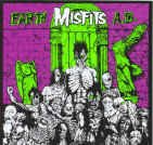Misfits Vinyl Sticker Earth AD Logo