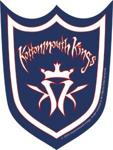 Kottonmouth Kings Vinyl Sticker Shield Logo