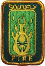 Soulfly Iron-On Patch Fire Logo