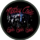 Motley Crue Iron-On Patch Circle Girls Logo