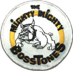 Mighty Mighty Bosstones Iron-On Patch Dog Logo