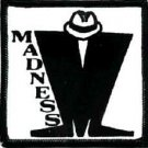 Madness Iron-On Patch Ska Logo
