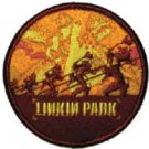 Linkin Park Iron-On Patch Soldier Collage Logo