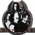 Disturbed Iron-On Patch Music Within Logo