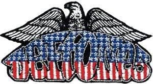 Deftones Iron-On Patch Eagle Logo