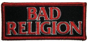 Bad Religion Iron-On Patch Letters Logo