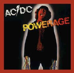 AC/DC Iron-On Patch Powerage Logo