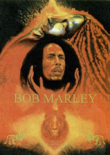 Bob Marley Poster Flag Reminiscence Tapestry