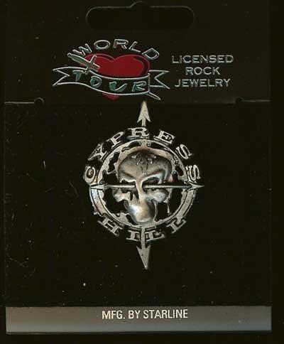 Cypress Hill Metal Lapel Pin