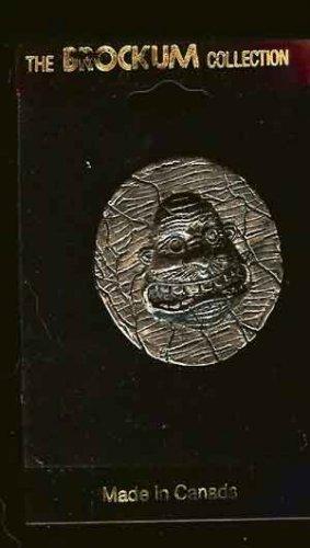 Anthrax Metal Lapel Pin Face Logo