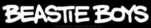 Beastie Boys Vinyl Sticker Letters Logo