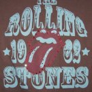 Rolling Stones Babydoll T-Shirt Tongue Logo Medium New